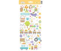 Doodlebug Design Hippity Hoppity Icons Stickers (7184)