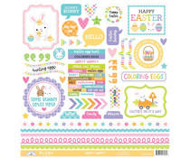Doodlebug Design Hippity Hoppity This & That Stickers (7185)