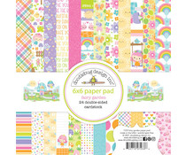 Doodlebug Design Fairy Garden 6x6 Inch Paper Pad (7233)
