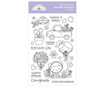 Doodlebug Design Flower Girl Doodle Stamps (6333)