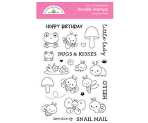 Doodlebug Design Bugs & Kisses Doodle Stamps (7213)