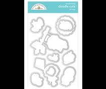 Doodlebug Design Oh Boy! Doodle Cuts (6332)