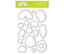 Doodlebug Design Fairy Garden Doodle Cuts (7212)