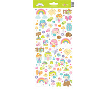 Doodlebug Design Fairy Garden Icons Stickers (7219)