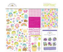 Doodlebug Design Fairy Garden12x12 Inch Essentials Kit (7235)