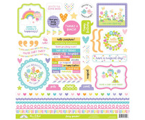 Doodlebug Design Fairy Garden This & That Stickers (7220)