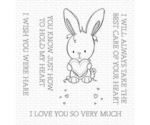 My Favorite Things Wish You Were Hare Clear Stamps (RAM-010)