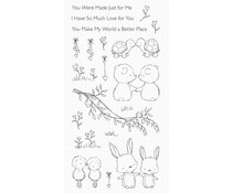 My Favorite Things Being With You Clear Stamps (SY-30)
