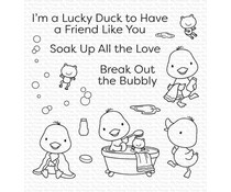 My Favorite Things Lucky Duck Clear Stamps (CS-553)