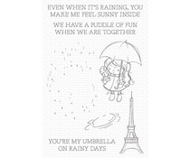 My Favorite Things Rainy Day Friends Clear Stamps (RAM-009)