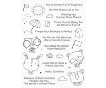 My Favorite Things Weather With You Clear Stamps (CS-550)