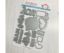 Time For Tea Happy Mail Gift Card Add On Set Metal Dies (T4T/598/Hap/Sta)