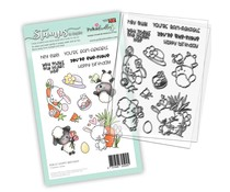 Polkadoodles Hoppy Birthday Clear Stamps (PD8127)