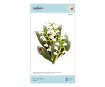 Spellbinders Lily of the Valley Etched Dies (S4-1085)