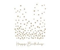 Spellbinders Slimline Confetti Background Glimmer Hot Foil Plate (GLP-279)