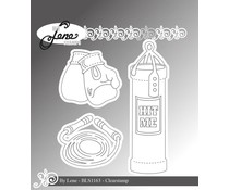By Lene Boxing Clear Stamps (BLS1163)