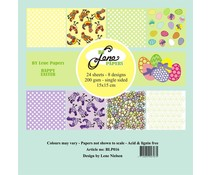 By Lene Happy Easter 6x6 Inch Paper Pack (BLP016)