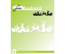 By Lene Bunny Border Cutting & Embossing Dies (BLD1345)