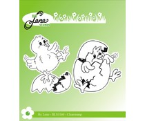 By Lene Chickens Clear Stamps (BLS1160)