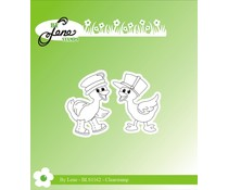 By Lene Ducklings Clear Stamps (BLS1162)