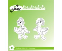 By Lene Ducks Clear Stamps (BLS1161)