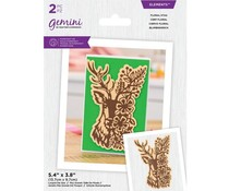 Gemini Floral Stag Elements Dies (GEM-MD-ELE-FLST)