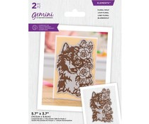 Gemini Floral Wolf Elements Dies (GEM-MD-ELE-FLWO)