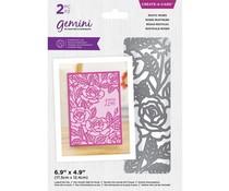 Gemini Rustic Roses Create-a-Card Dies (GEM-MD-CAD-RUR)