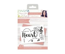 Crafter's Companion Sharon Callis From the Heart Clear Stamps From the Heart (SCC-STP-FTHE)