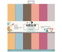 Crafter's Companion Pawsitivity 12x12 Inch Card Pad (NIT-PAW-CARD12)