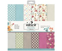 Crafter's Companion Pawsitivity 12x12 Inch Patterned Paper Pad (NIT-PAW-PAD12)