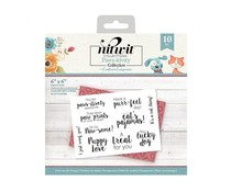 Crafter's Companion Pawsitivity Clear Stamps (NIT-PAW-ST-CA)