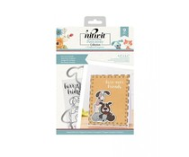 Crafter's Companion Pawsitivity Furr-ever Friends Stamp & Die Set (NIT-PAW-STD-FFR)