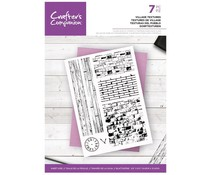 Crafter's Companion Village Textures Clear Stamps (CC-ST-CA-VT)