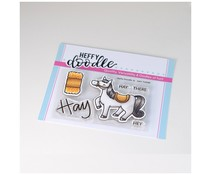 Heffy Doodle Hay There Clear Stamps (HFD0191)