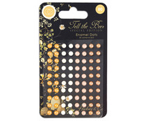 Craft Consortium Tell the Bees Special Edition Adhesive Enamel Dots (CCADOT011)