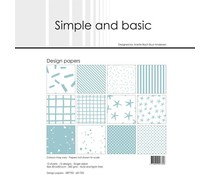 Simple and Basic Mint 12x12 Inch Paper Pack (SBP702)