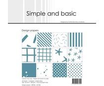 Simple and Basic Aqua 6x6 Inch Paper Pack (SBP506)