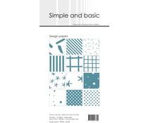 Simple and Basic Aqua Slim Paper Pack (SBP906)