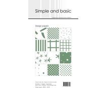 Simple and Basic Eucalyptus Slim Paper Pack (SBP901)