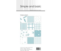 Simple and Basic Mint Slim Paper Pack (SBP902)