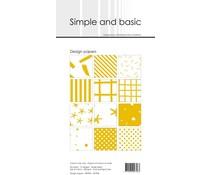 Simple and Basic Mustard Slim Paper Pack (SBP904)