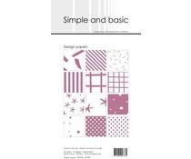 Simple and Basic Old Rose Slim Paper Pack (SBP909)