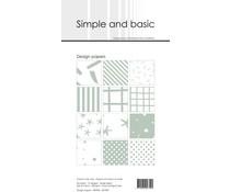 Simple and Basic Sage Slim Paper Pack (SBP905)