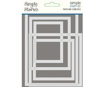 Simple Stories Simple Pages Template Photo Mat (15832)