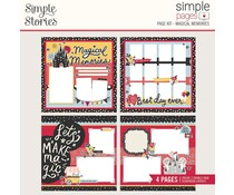 Simple Stories Simple Pages Kit Magical Memories (14230)