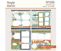 Simple Stories Simple Pages Kit Let's Get Away (14828)