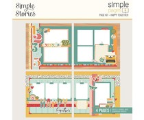 Simple Stories Simple Pages Kit Happy Together (14430)
