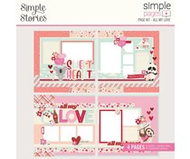 Simple Stories Simple Pages Kit All My Love (14327)