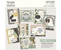 Simple Stories Simple Cards Kit Just Married (15529)